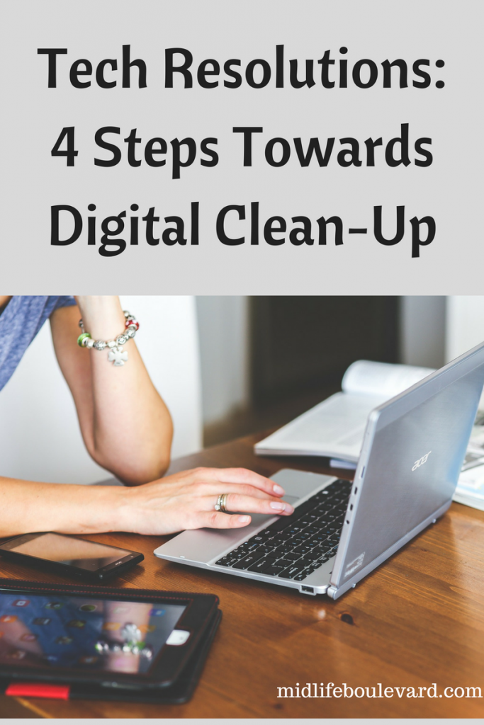 digital clean-up, tech fixes, tech talk