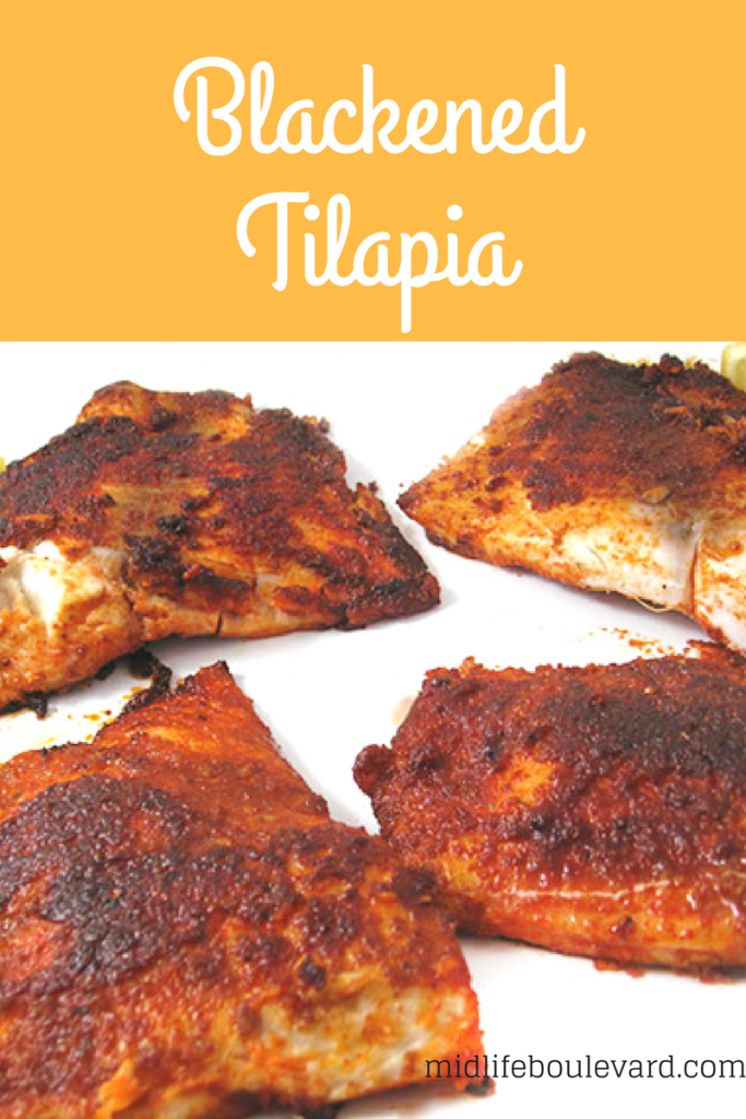 Easy and Delicious Blackened Tilapia Recipe