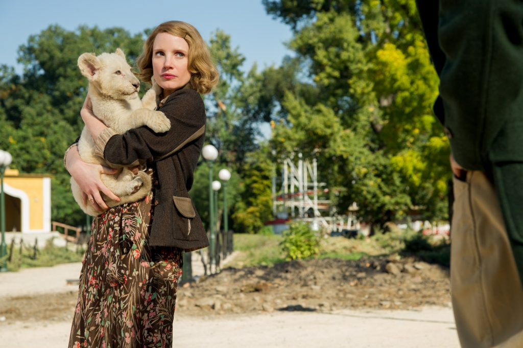 zookeepers wife movie jessica chastain