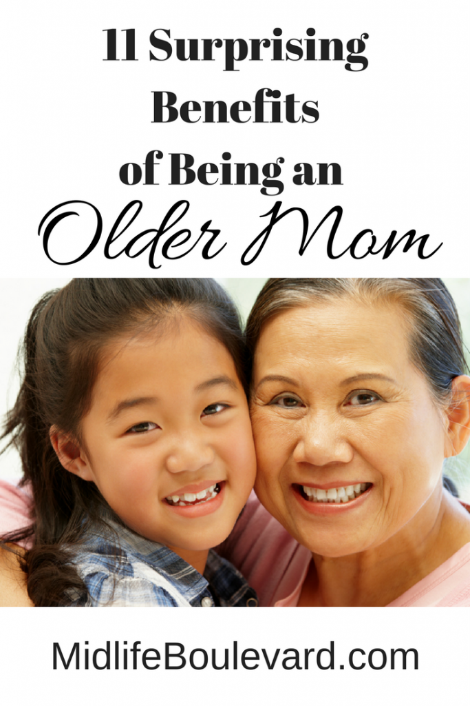 Having a baby over 40? The benefits of being an older mom.