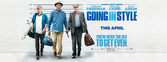 Going In Style movie giveaway