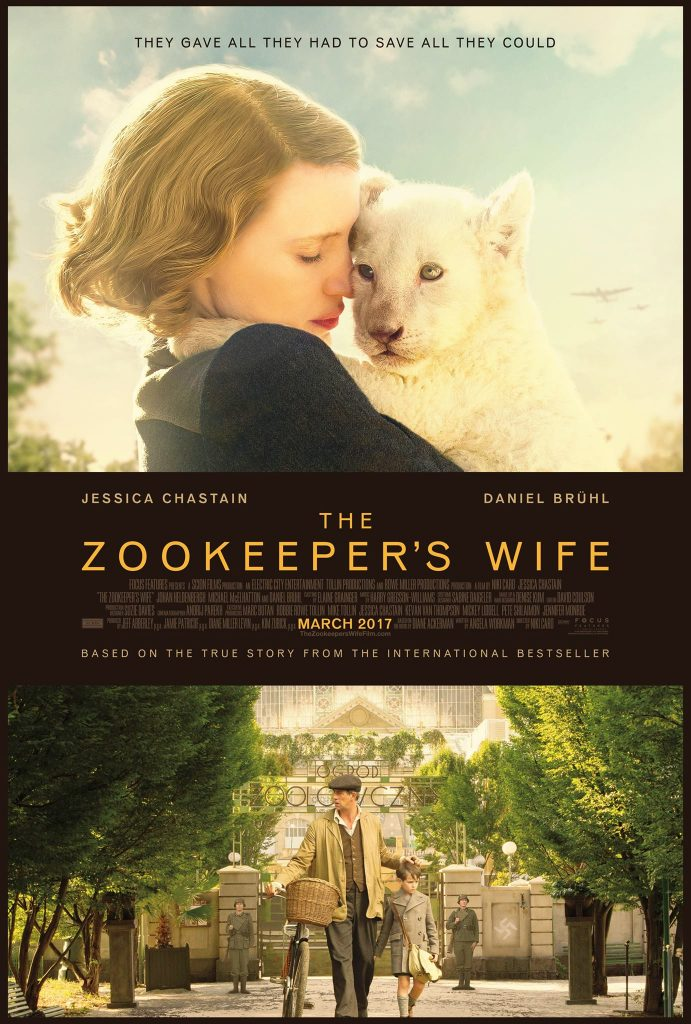 zookeepers wife movie poster