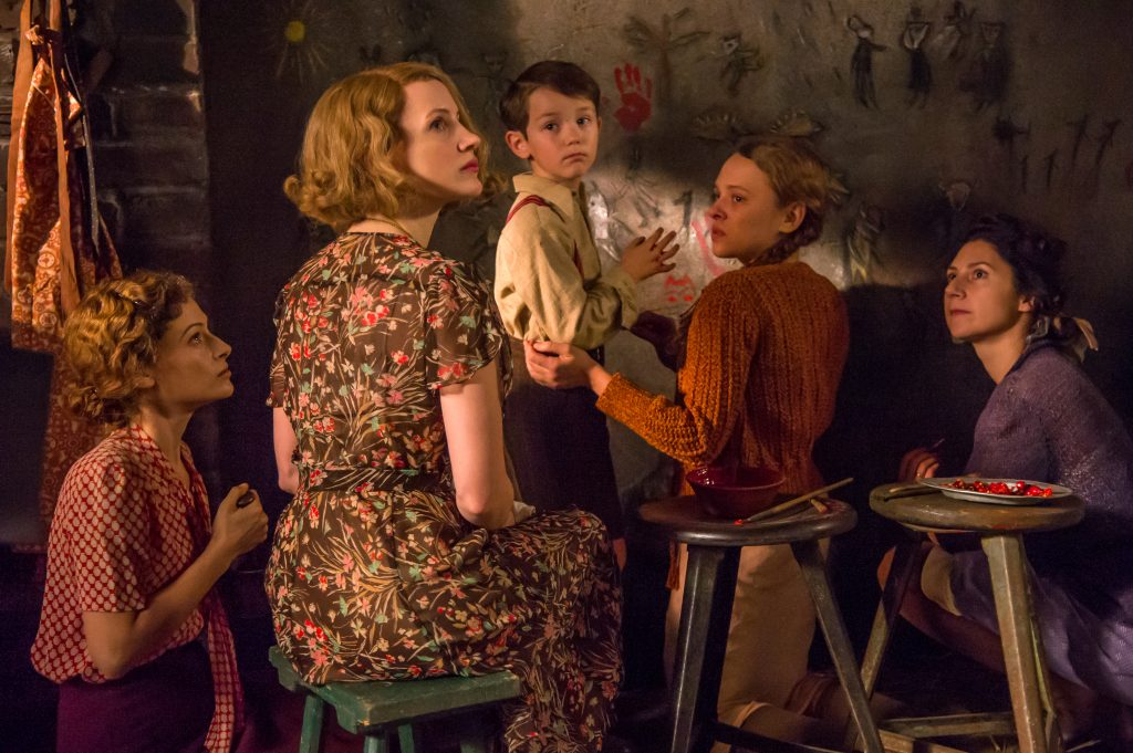 Jessica Chastain in The Zookeeper's Wife Movie
