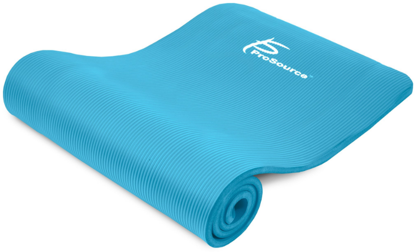 An extra thick mat for yoga or pilates. Better for reducing joint pain.