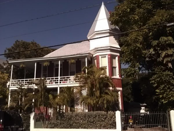 Victorian Home with Wrap-Around Porches on Two Stories, Key West Florida