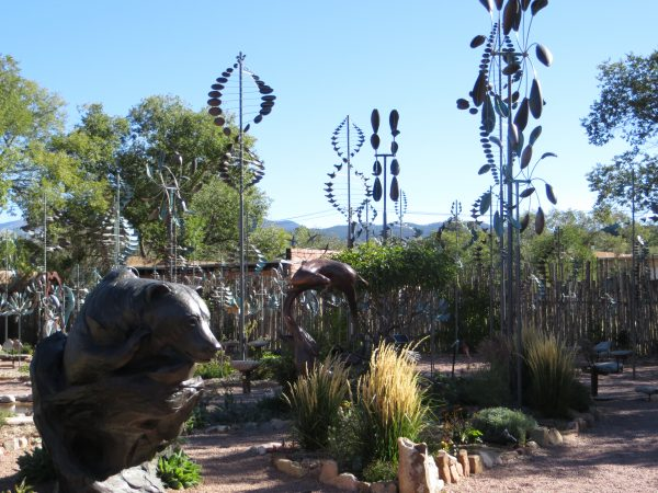Sculpture garden, Canyon Road, Santa Fe