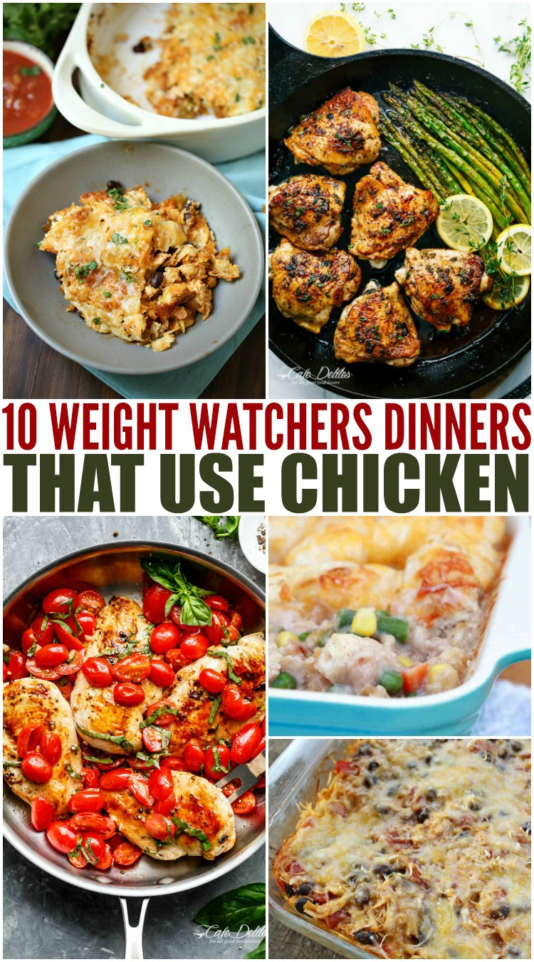 Weight Watchers chicken dinner recipes