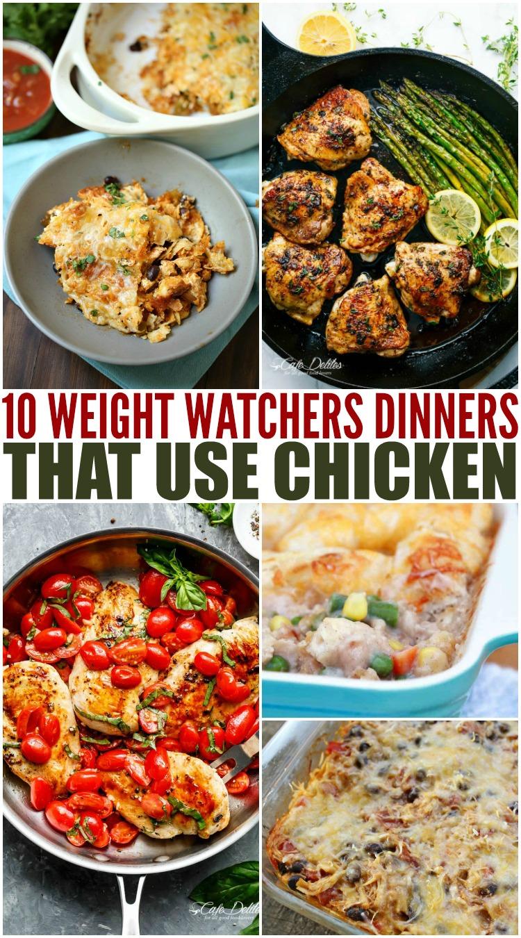 Weight Watchers chicken dinner recipes