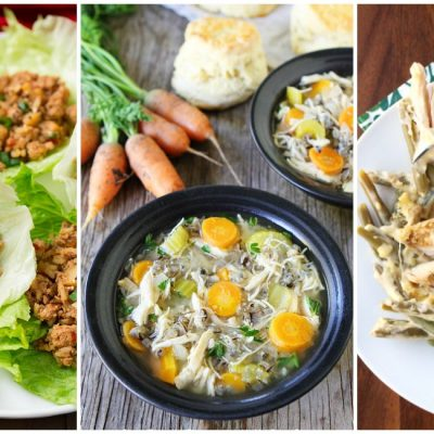 10 Quick & Easy Chicken Crockpot Meals