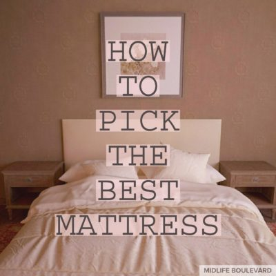 How To Pick the Best Mattress