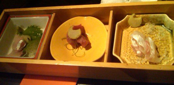Food in Japan: Sashimi raw fish