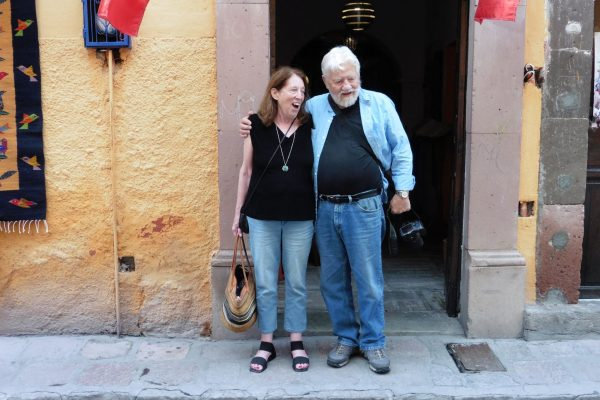 Billie Frank and Steve Collins in San Miguel de Allende, Mexico