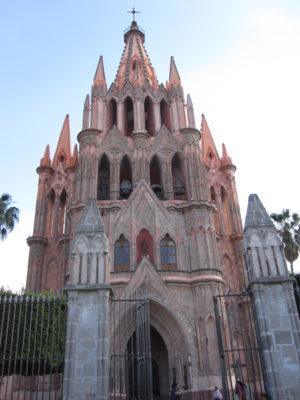 The Parroquia, San Miguel de Allende, Mexico
