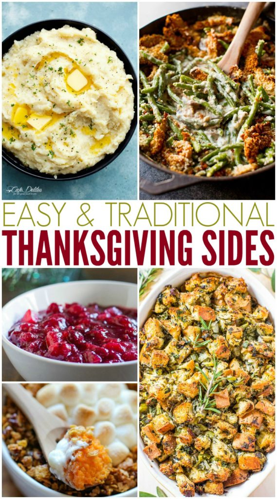 Traditional thanksgiving side dish recipes.