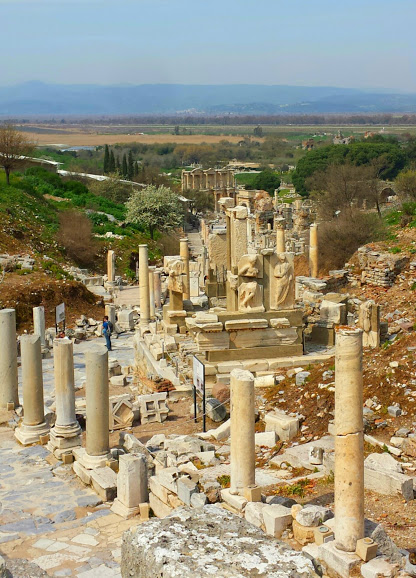 Ephesus ruins in Turkey