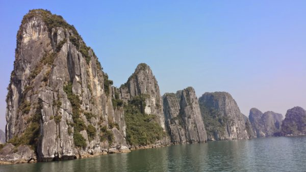 Karst Scenery, Halong Bay, Vietnam