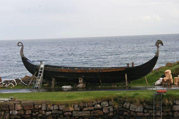 real Viking longship