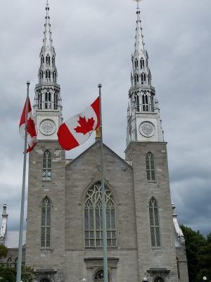 Notre Dame Cathedral in Ottawa Canada