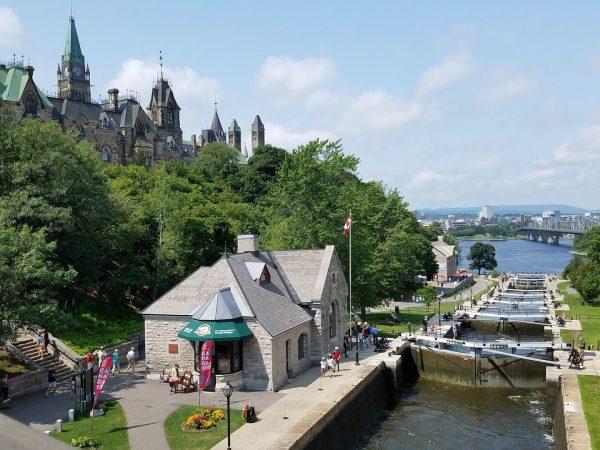 Rideau Canal Locks, Ottawa, Canada