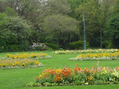 Dublin, Ireland city park