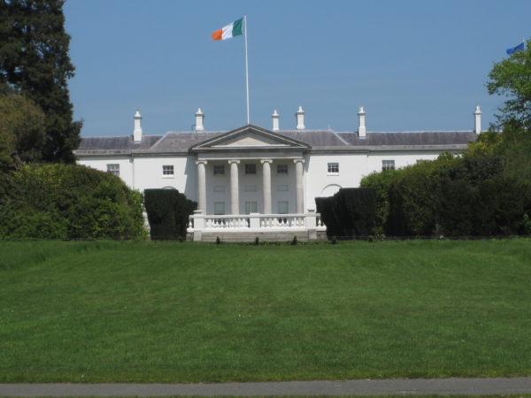 Official residence of the President of the Irish Republic, Phoenix Park, Dublin