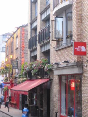 Temple Bar section of Dublin, Ireland