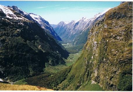 MacKinnon Pass - Fiordland National Park, New Zealand