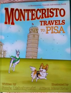 Montecristo Travels to Pisa, a travel book for children