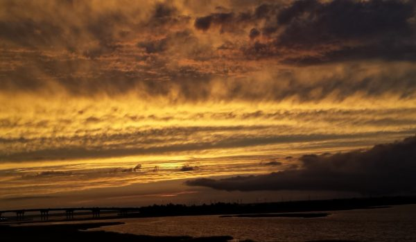 Brigantine Beach, New Jersey, after the sunset