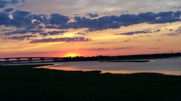 Brigantine Beach, New Jersey, sunset