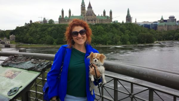 Alexander Bridge and Parliament Hill, Ottawa, Canada