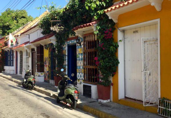 Cartagena, colombia street