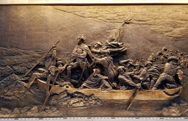 Washington Crossing the Delaware, Museum of the American Revolution, Philadelphia