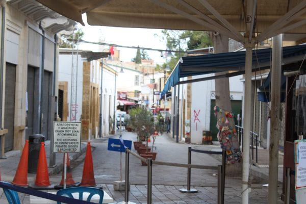 Travel through History, Green Line, Nicosia, Cyprus