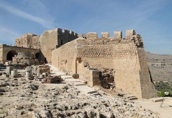 Travel through history at Lindos, Isle of Rhodes