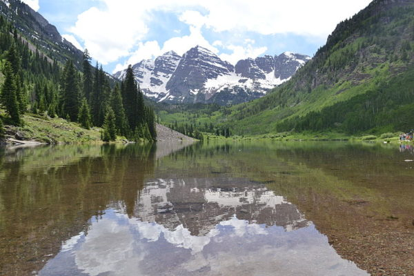 One thing to do in Aspen is to visit Maroon Bells