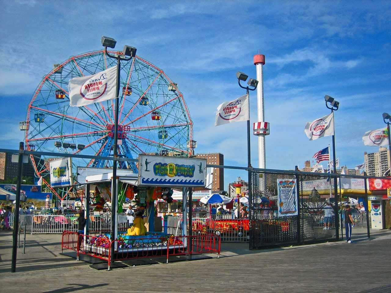 Free thing to do in New York City, Visit Coney Island