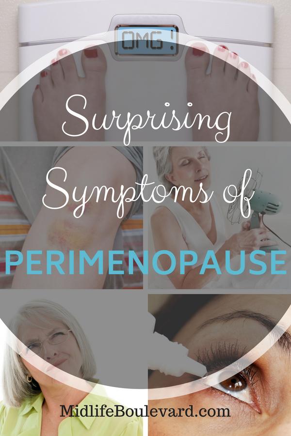 symptoms of perimenopause