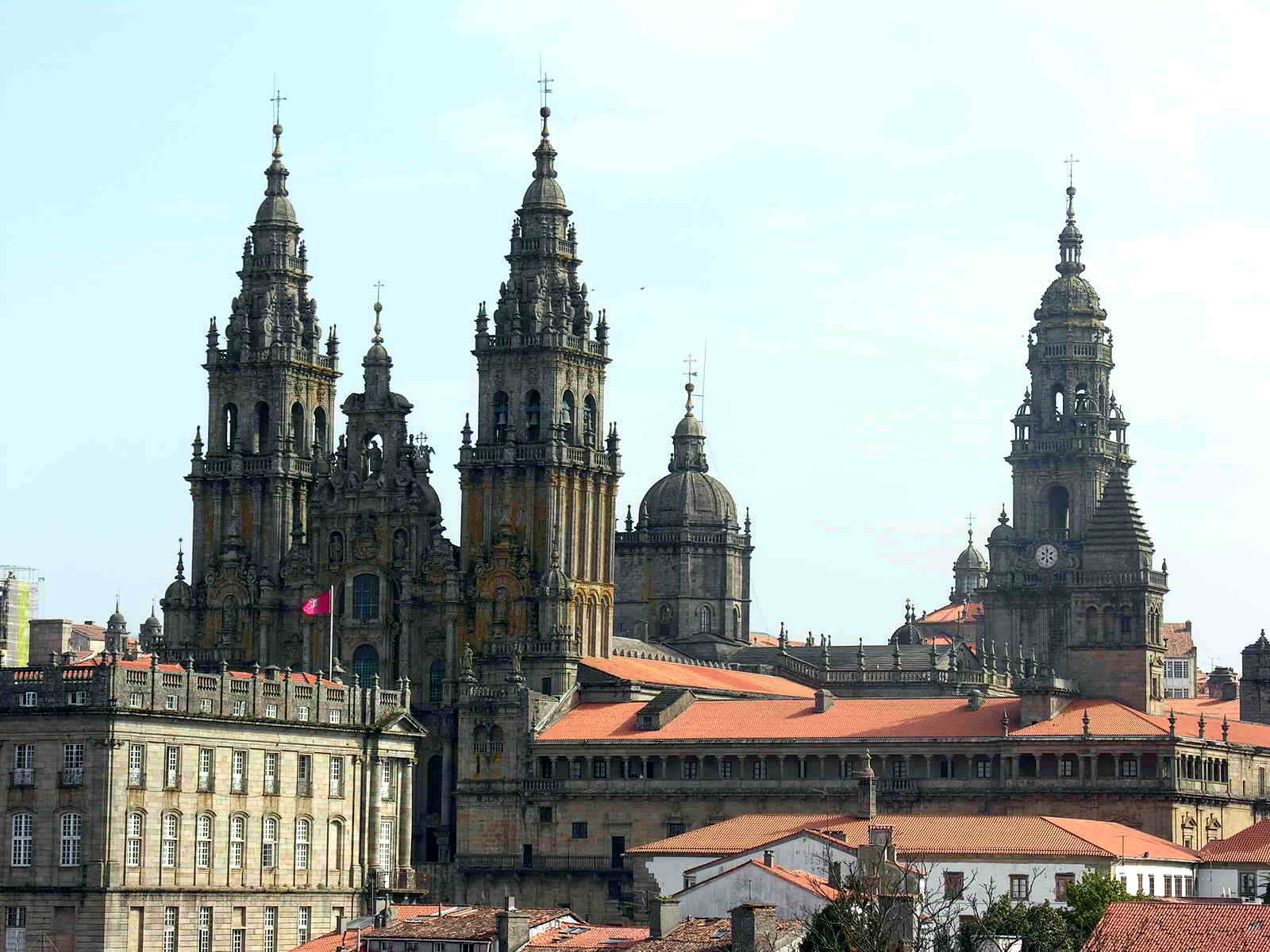 Cathedral Santiago de Compostela, the end of The Way