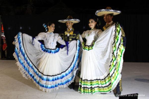 Folkloric dancers in Puerto Vallarta.