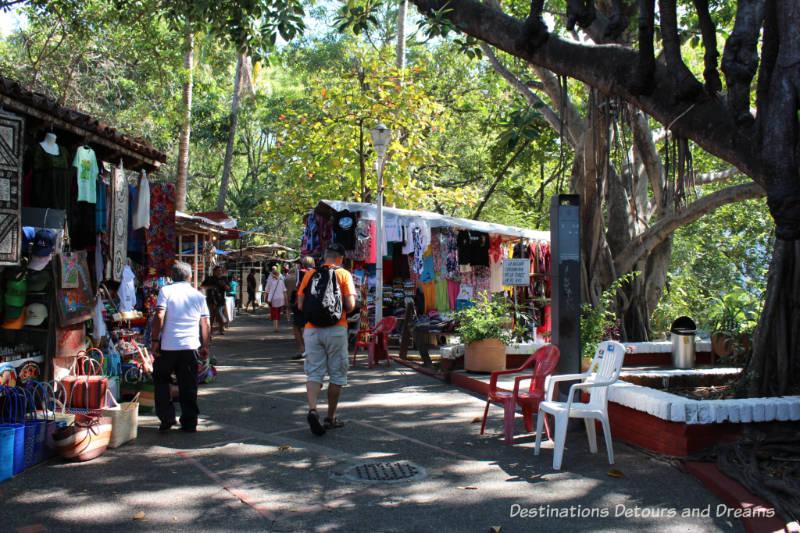 Market on Isla Cuale, Puerto Vallarta