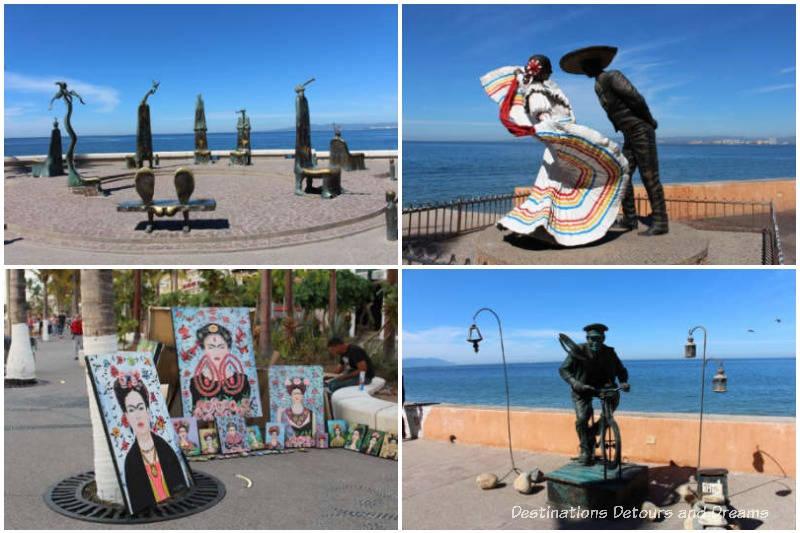 Malecon in Puerto Vallarta 1 of the things to do in Puerto Vallarta